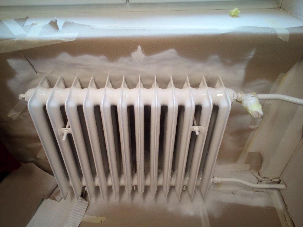 lakování radiátorů